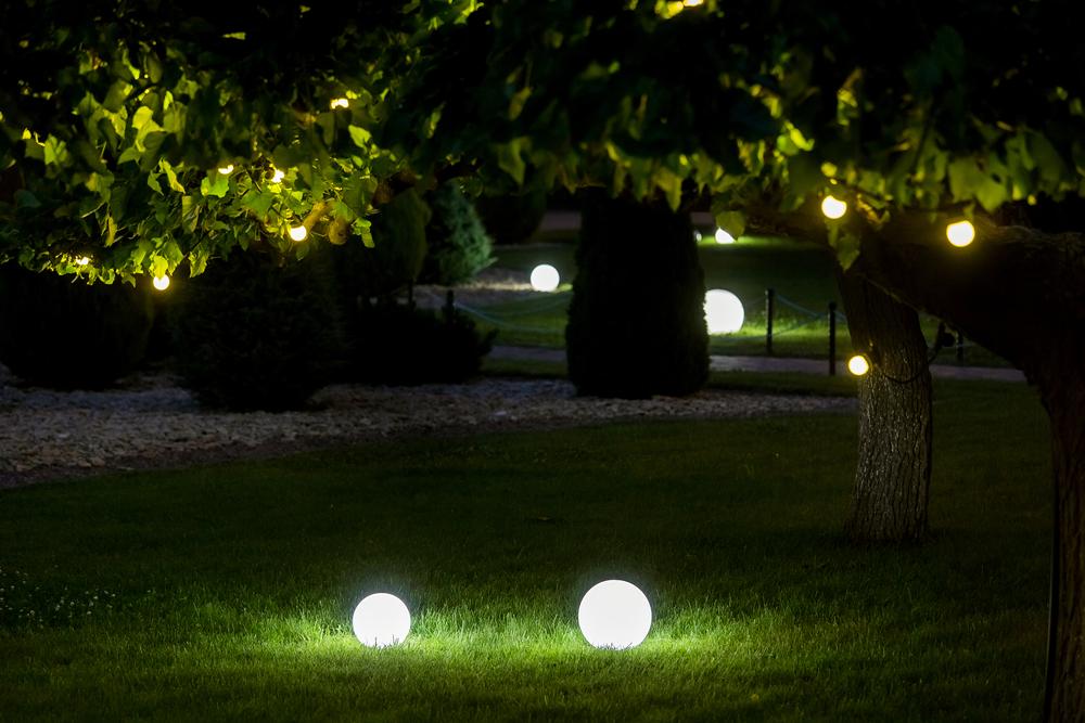 Buitenlampen op batterij